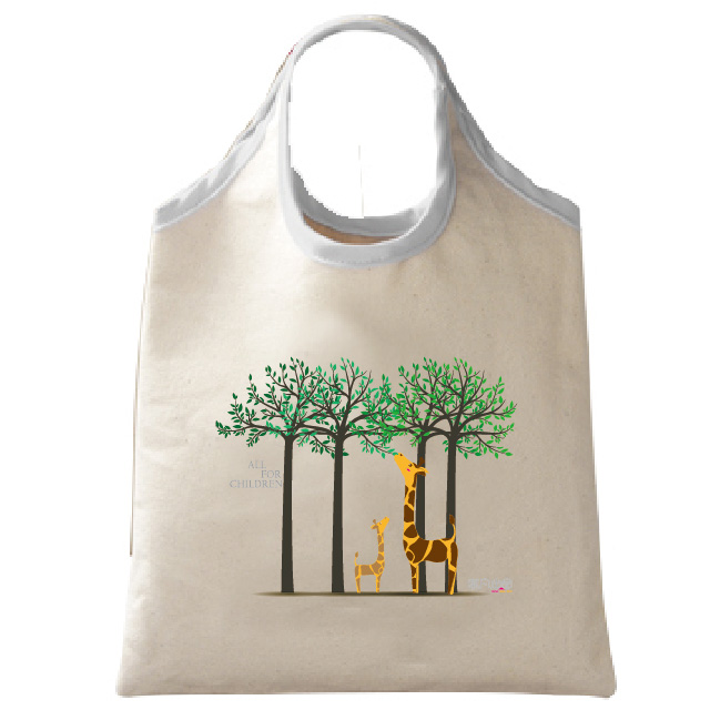 長頸鹿環保袋